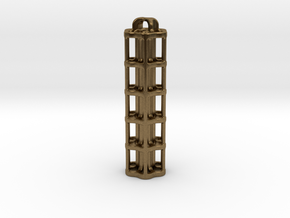 Tritium Lantern 5A (Stainless Steel) in Natural Bronze