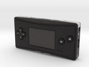 1:6 Nintendo Game Boy Micro (Black) in Full Color Sandstone