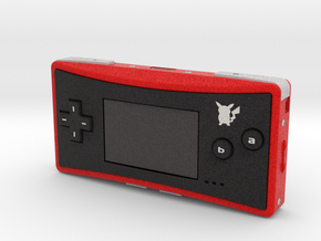 1:6 Nintendo Game Boy Micro (Pokemon) in Full Color Sandstone