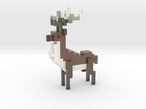 MALE Deer in Coated Full Color Sandstone