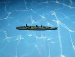 IJN Tsugaru 1944 1/2400 in Smooth Fine Detail Plastic