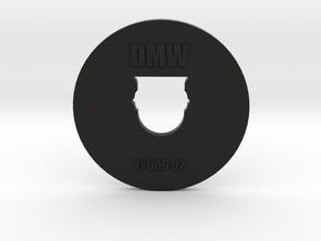 Clay Extruder Die: Footer 006 02 in Black Natural Versatile Plastic