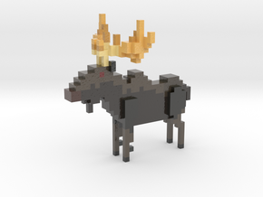Moose in Coated Full Color Sandstone