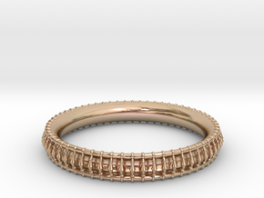 Bracelet 2 in 14k Rose Gold Plated