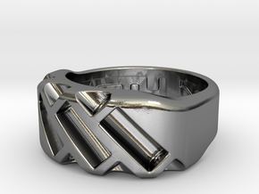 US4.5 Ring XVII: Tritium in Polished Silver