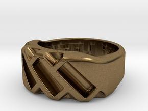 US4.5 Ring XVII: Tritium in Natural Bronze