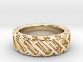 US9 Ring XV: Tritium in 14K Yellow Gold