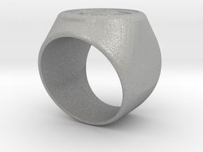 Riga Signet Ring v4 in Aluminum