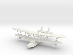 Supermarine Stranraer 6mm 1/285 in White Natural Versatile Plastic
