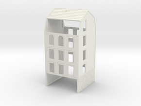 NVIM41 - City buildings in White Natural Versatile Plastic