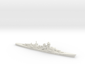Admiral Hipper (Hipper Class) 1/1800 in White Natural Versatile Plastic