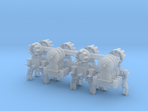 Dwarf B&O CPL-LowerSpdLamps-GndBrkt(6) in Smooth Fine Detail Plastic