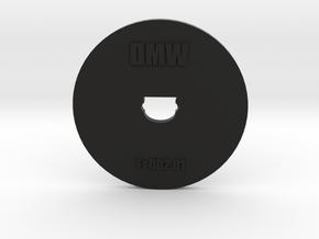 Clay Extruder Die: Footer 002 01 in Black Natural Versatile Plastic
