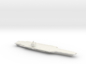 USS CVN-65 Enterprise (1962), 1/2400 in White Natural Versatile Plastic