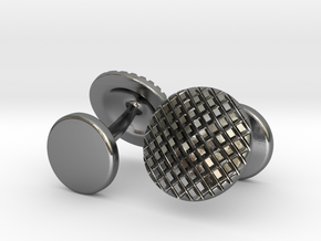 Cufflinks in Polished Silver