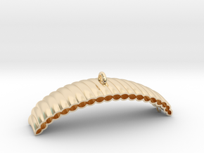 Parachute in 14k Gold Plated Brass