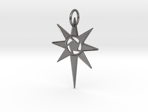 Thareon 'The North Star' in Polished Nickel Steel