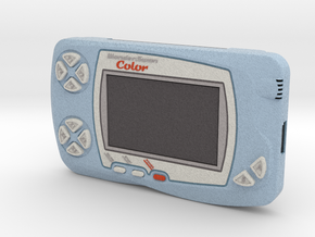 1:6 Bandai WonderSwan Color (Blue) in Full Color Sandstone