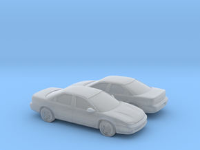1/160 2X 1993-97 Dodge Intrepid in Smooth Fine Detail Plastic