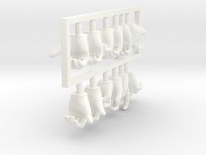 FB01-HandPack-01 7inch in White Processed Versatile Plastic