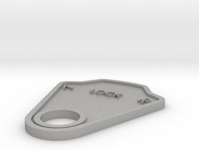 Lock Plate in Raw Aluminum