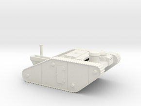15mm AQMF STEAM TANK SHELL in White Natural Versatile Plastic