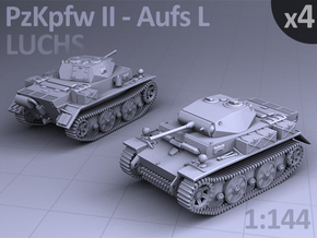 PzKpfw II ausf L - LUCHS  (4 pack) in Frosted Ultra Detail