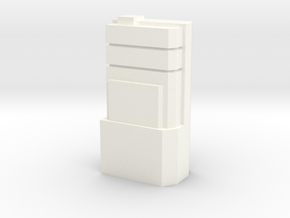 Custom Monopoly Hotel Version 3 (3cm tall) in White Strong & Flexible Polished