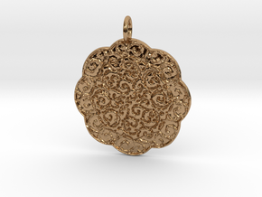 Classic1 Pendant in Polished Brass