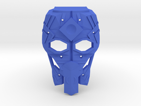 Mask of Intangibility V2 in Blue Processed Versatile Plastic