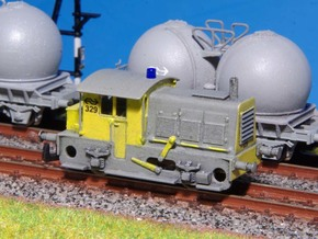 N SIK NS 200-300 locomotor (nieuwere versie) in Frosted Extreme Detail