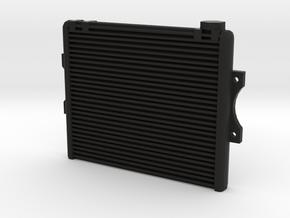 1/10 scale aluminum racing radiator in Black Natural Versatile Plastic