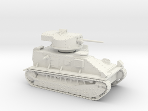 Vickers Medium MkII* (15mm) in White Natural Versatile Plastic