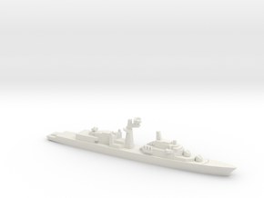 Tourville-class frigate, 1/1250 in White Natural Versatile Plastic