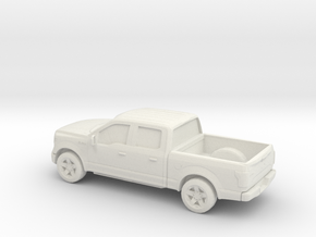1/64 2015 Ford F 150 Crew Cab in White Strong & Flexible