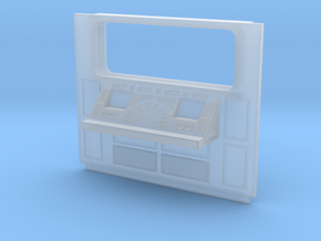Set-1 CC Wall Console With Window-01-Sht-72 in Smooth Fine Detail Plastic