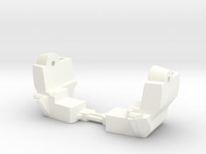 Spinout Fix; Torso Lock in White Processed Versatile Plastic