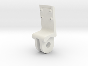 Raspberry pi camera mount (Stalk) in White Strong & Flexible
