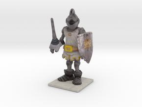 Crazy Knight in Full Color Sandstone