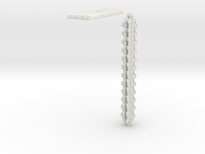 HOvm02 - HO Modular viaduct 1 in White Natural Versatile Plastic