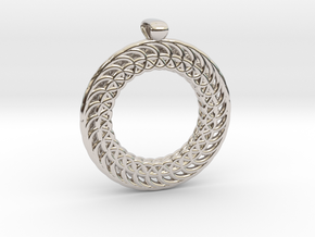 Necklace in Platinum