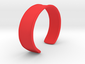 Cuff Bracelet in Red Strong & Flexible Polished