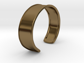 Cuff Bracelet in Polished Bronze