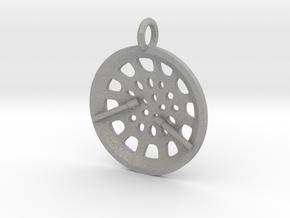 "Low Tenor ""Essence"" steelpan pendant in Aluminum: Small"