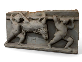 "Boar Carriers (5"") in Full Color Sandstone"