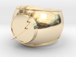 Flash Ring in 14K Yellow Gold