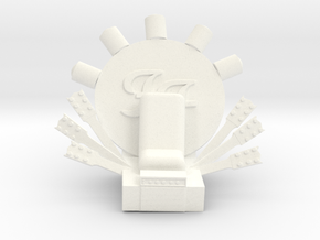 Foo Fighters Throne in White Strong & Flexible Polished