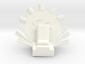 Foo Fighters Throne in White Processed Versatile Plastic