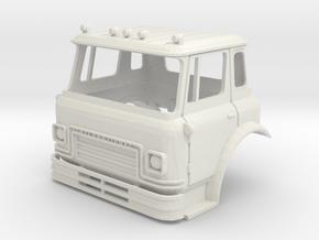 TT-Scale (1/120) International Cargostar Cab in White Natural Versatile Plastic