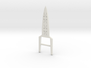 Katar in White Natural Versatile Plastic